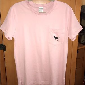 Victoria's Secret Pink short sleeve campus tee